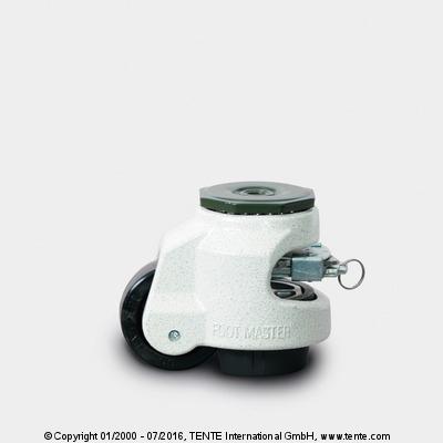roulettes pour la manutention - Solutions spécifiques, FOOTMASTER GDR- 80-S-NYN