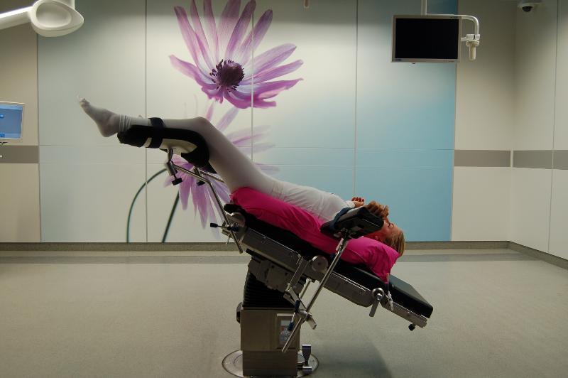 Matelas à dépression pour robot de chirurgie Da Vinci - Materiel medical