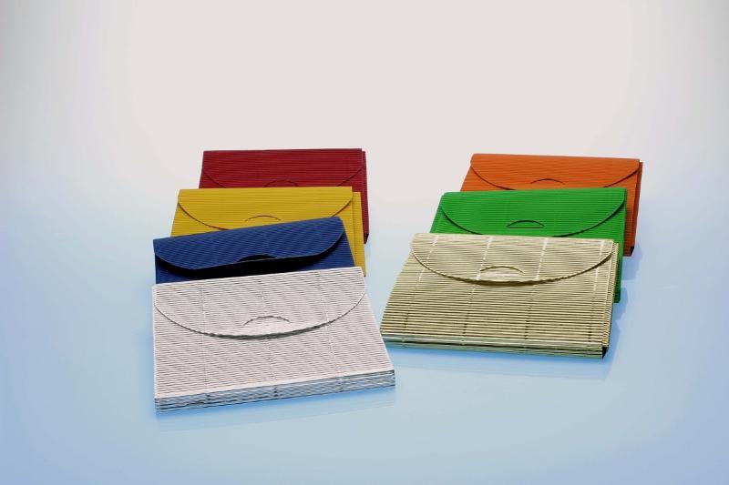 CD Geschenkverpackung - blau - 144x125x10 mm - Geschenkverpackungen
