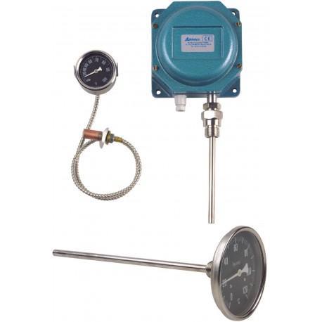 Thermomètre mécanique - Mesure de température mécanique