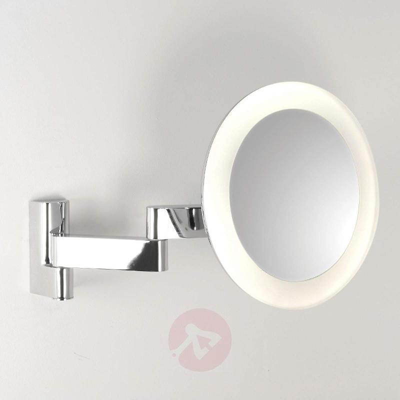 Niimi Round Cosmetic Mirror with LED Light - Wall Lights