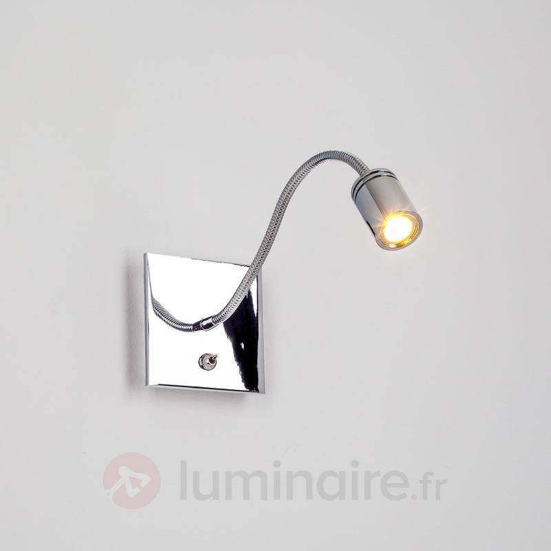 Applique LED Ilania à liseuse - Appliques LED