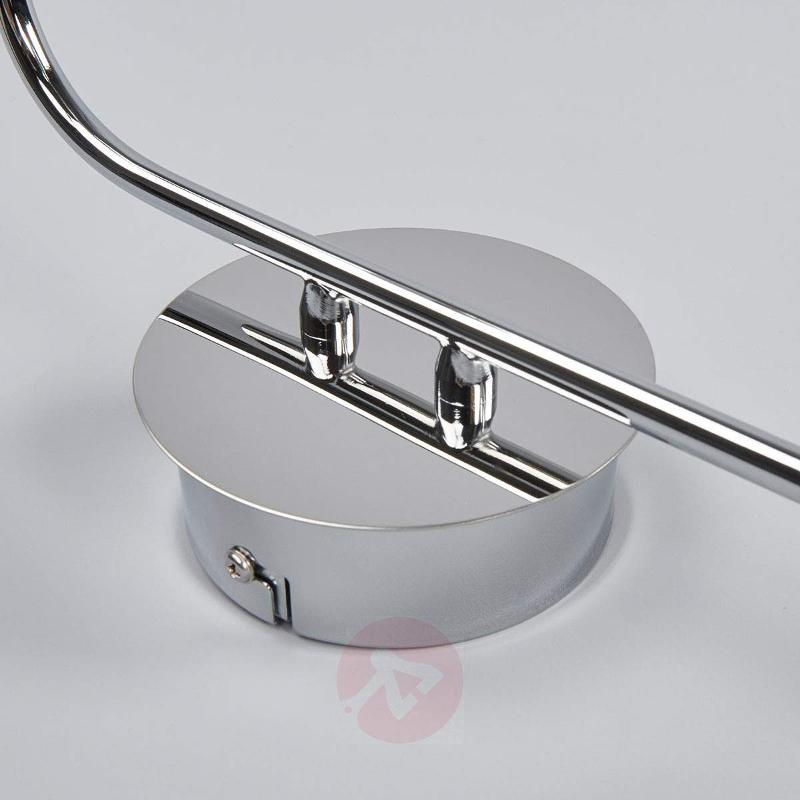 Almonte LED wall light, glass elements, IP44 - Wall Lights