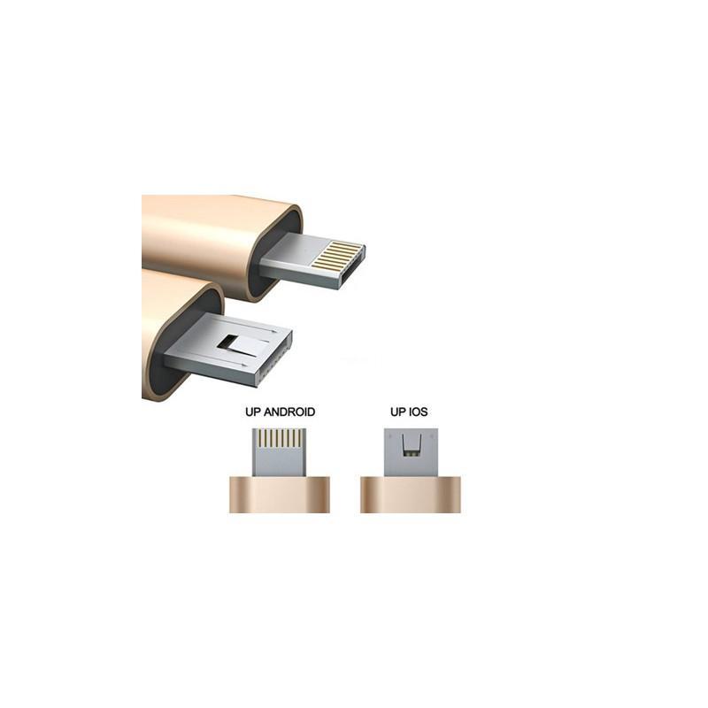 Câble 2 en 1 Android Ios - Câbles USB Originaux