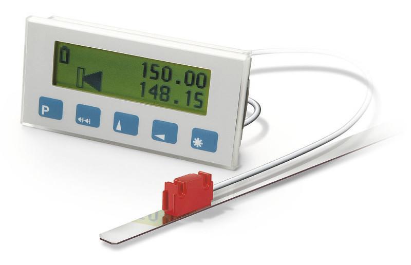 Electronic display MA501 - Electronic display MA501, Quasi-absolute, multi-line LCD dot matrix display