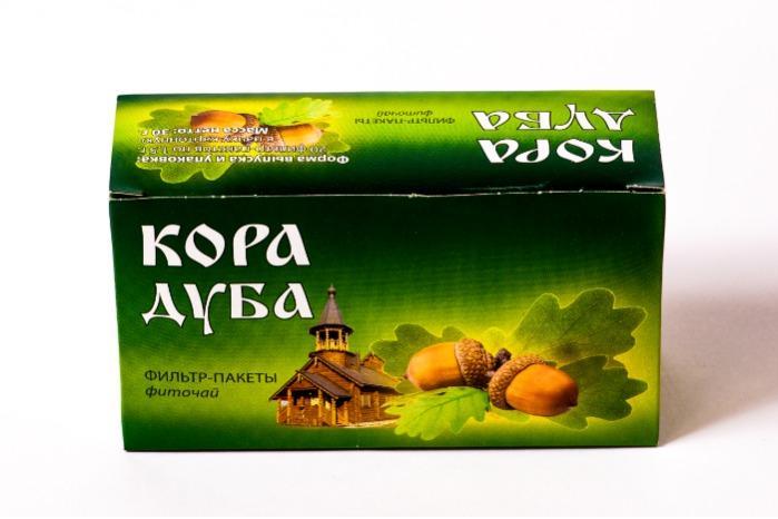 Oak Bark phytotea -