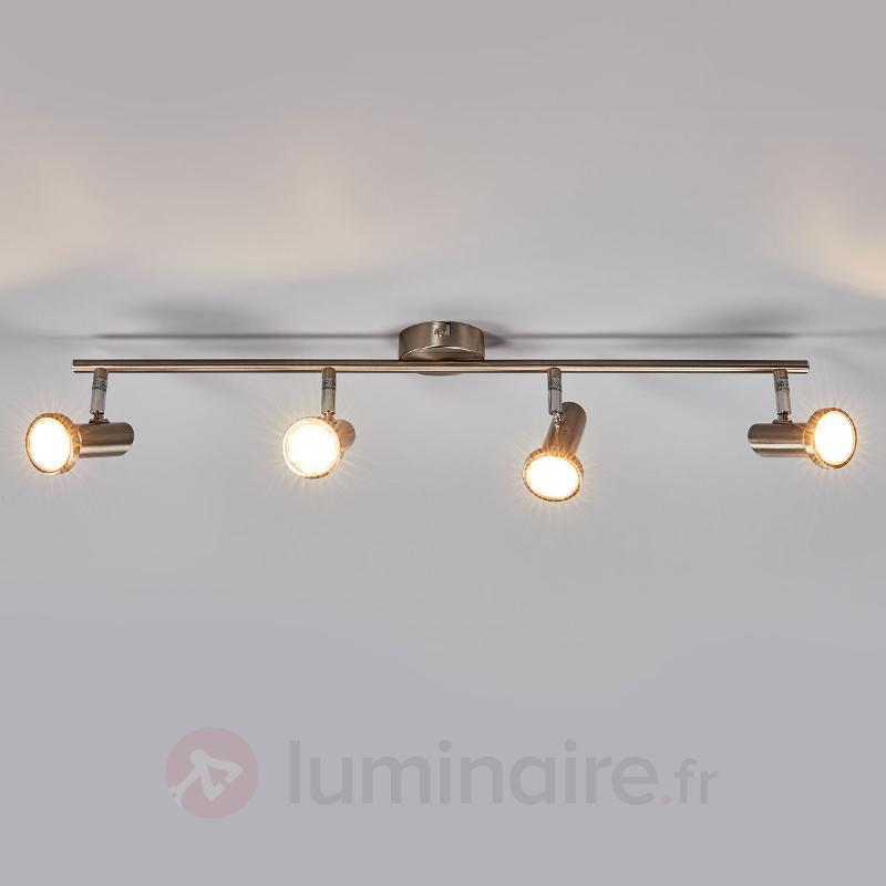 Cosma - plafonnier à quatre LED - Spots et projecteurs LED