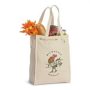 printed cotton carrier bags