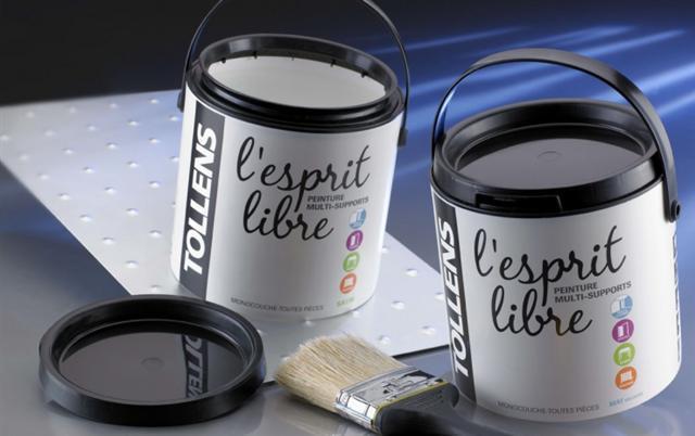 Pots plastiques injectés - Pots cylindriques Paintainer