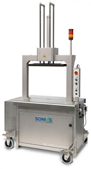 Evolution SoniXs MP-6 T-VA - 全自动不锈钢打包机