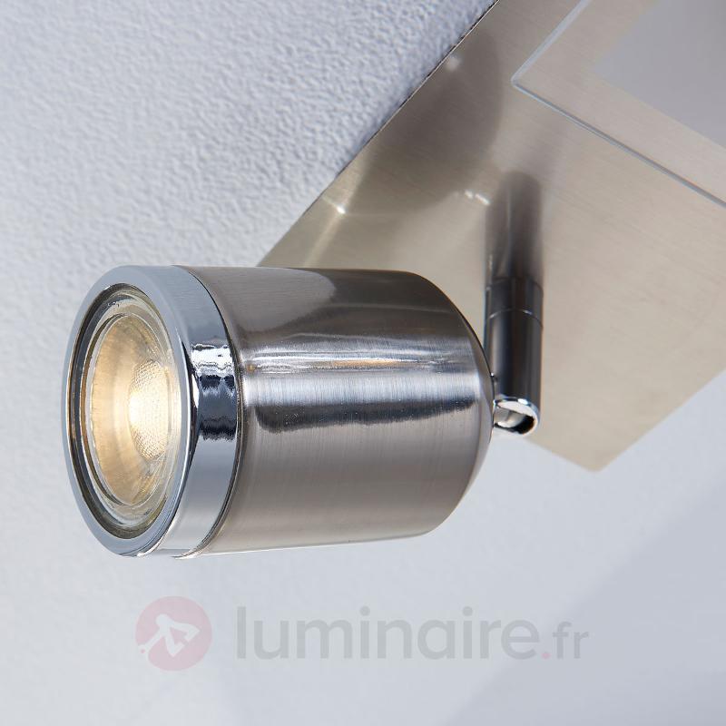 Plafonnier avec spots LED Fjolla à 5 lampes - Spots et projecteurs LED