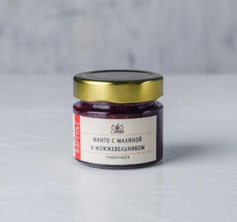 "JAM - Jam ""Mango with raspberries and juniper berries"""