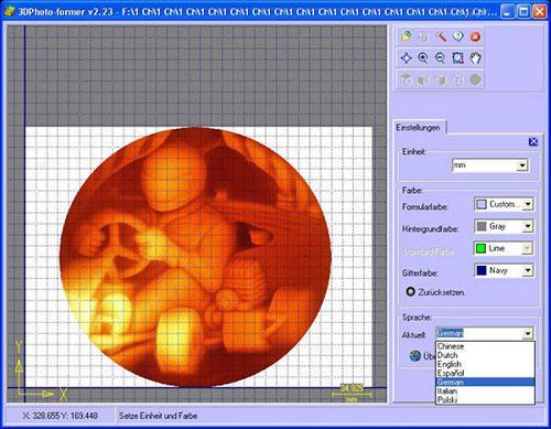 3D-Photoformer - Gravursoftware