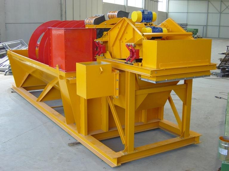 Sand washing and recovery - LST BUCKET RECOVERY SYSTEMS