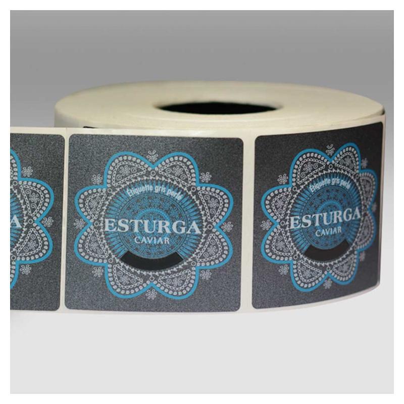 Étiquettes gris perlé - Étiquettes haut de gamme