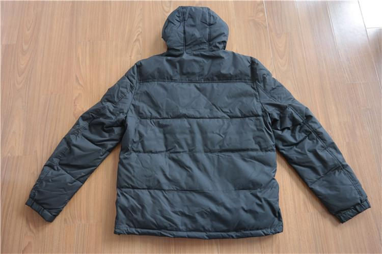 Men's hooded down wear for winter YH16-44MTK - YH16-44MTK