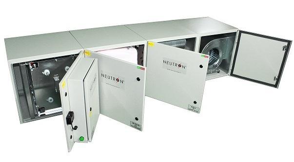 NEUTRON - Sistema Modular/ NEUTRON Filter Unit - Facilidade no transporte, montagem e manutenção do equipamento, múltiplas combin