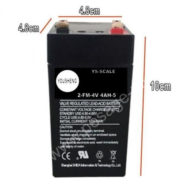 Batterie 4V4.AH pour Balance - Securité/ Electricité