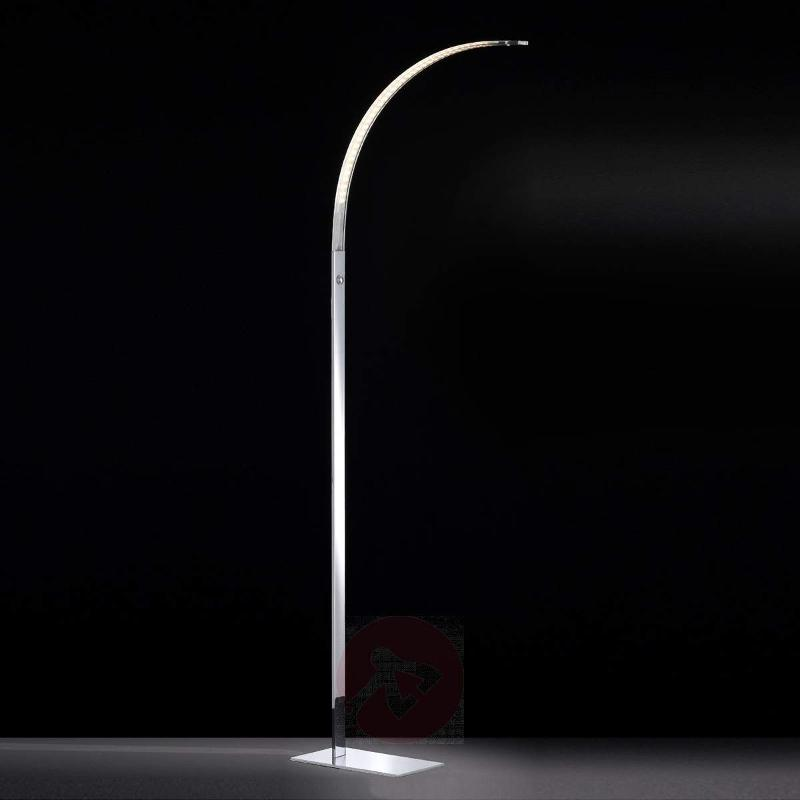 Luz slightly-curved LED floor lamp 165 cm - Arc Lamps