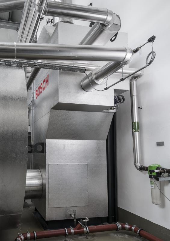 Теплообменник отработанных газов ЕСО отдельно стоящий