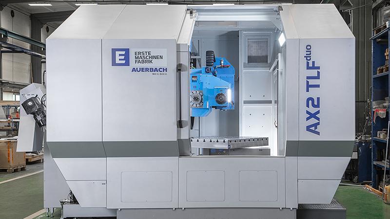 Tiefbohr-Fräsmaschine AUERBACH AX2 TLFduo -