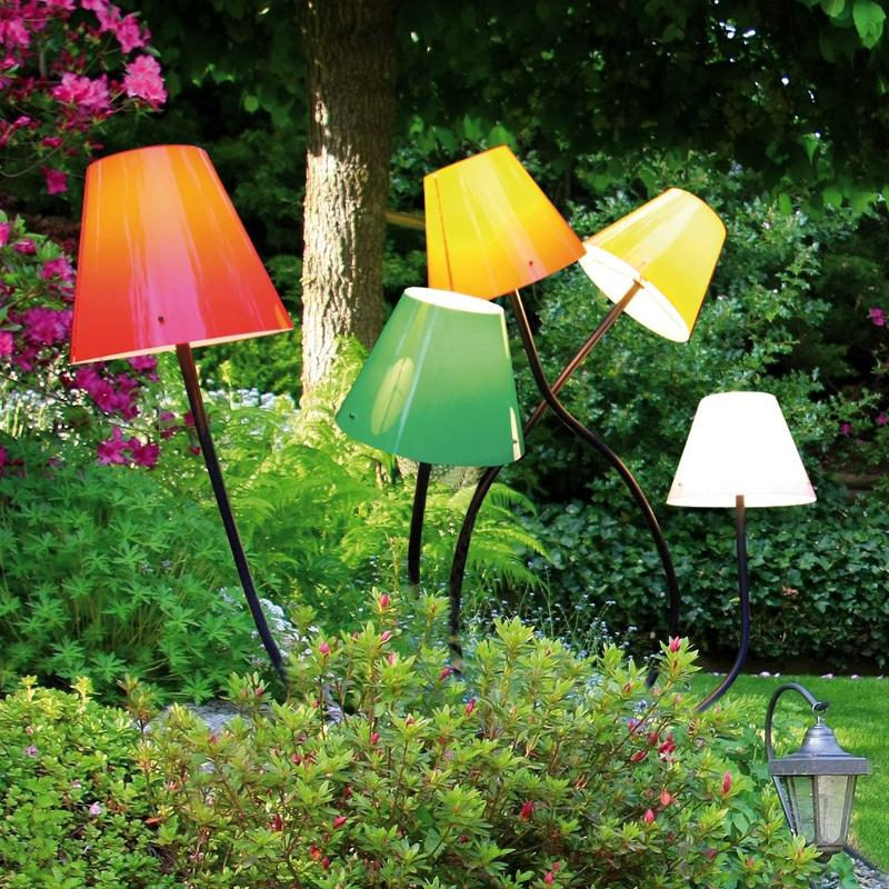 Lampe d'extérieur OCTOPUS OUTDOOR sans diffuseur - Toutes les bornes lumineuses