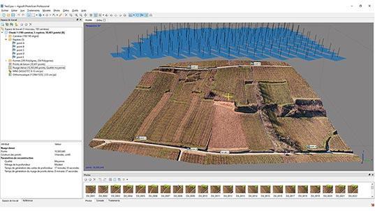 Cartographie et Modélisation 3D - Photogrammétrie avec Drone
