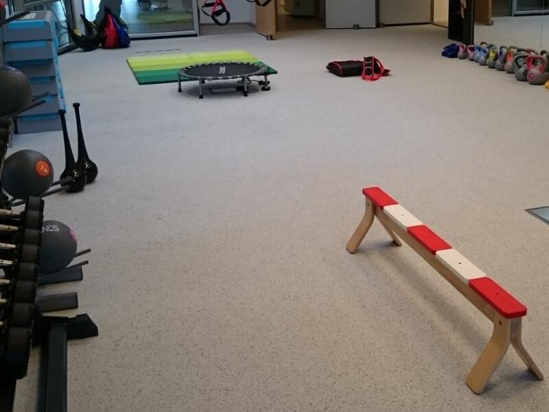 Cardiovloer - Een hoogwaardige rubbervloer voor toepassing in cardio omgevingen.