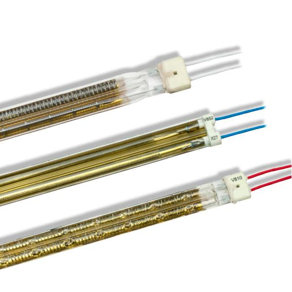 Infrared Twin Tube lamps