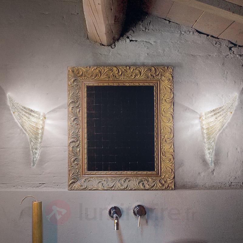 Applique murale pour côté gauche Giglio - Appliques en verre