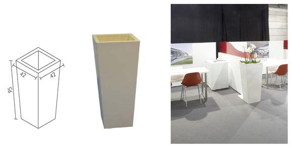 Paper basket - For stands or showrooms