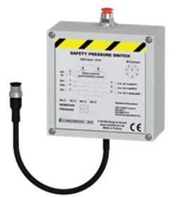 Überwacht den Druck von Gasen und Flüssigkeiten