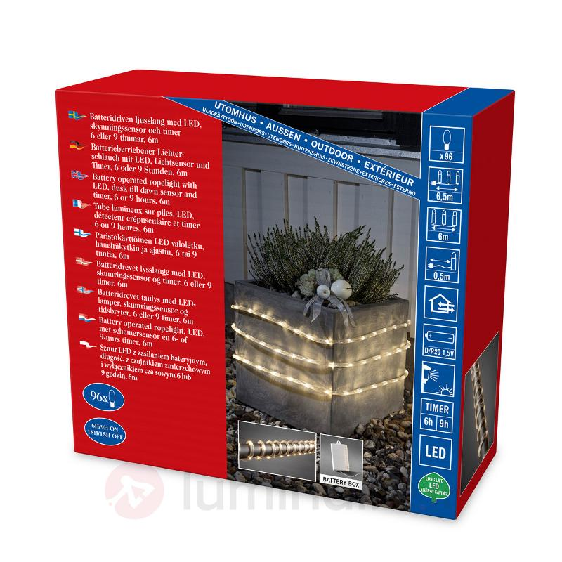Tube lumineux LED d'extérieur 6 m 96 lampes - Tubes lumineux