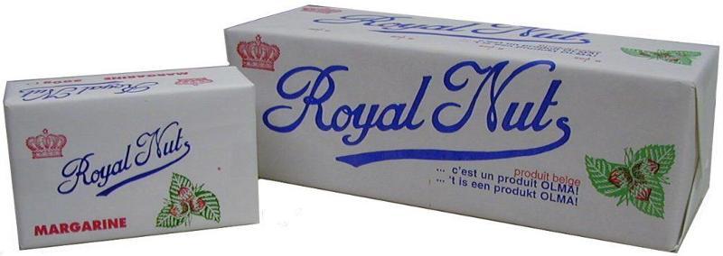 Margarine Royal Nuts - Formats disponibles : 500g /2,5kg