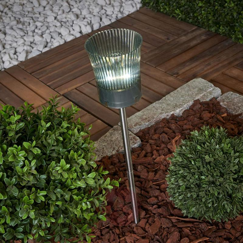 Two-in-one LED solar light Tealight - outdoor-led-lights