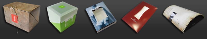 Faltschachteln und Stülpdeckelkartons - null