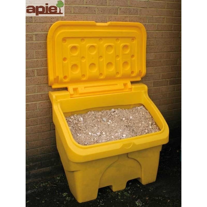 Coffre à sel ou sable 200 L jaune - Référence : CS200J/ECO