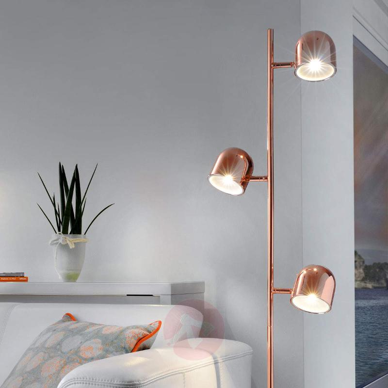 Three-bulb LED floor lamp Ella - Floor Lamps
