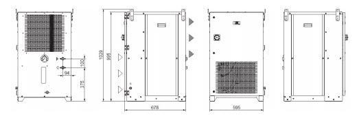 Tcu22÷55 Grandezza 1 Trifase Refrigeratori Industriali Per Fluidi Inquinati - LINEA REFRIGERAZIONE