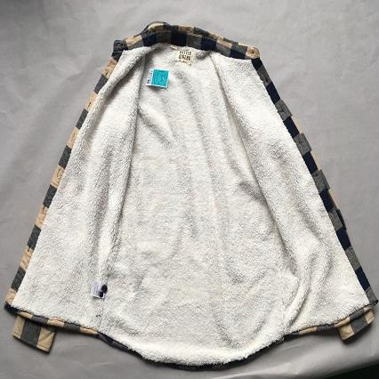 Men's fleece-lined shirt -