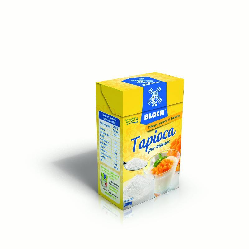 Tapioca Bloch Société Nouvelle - Tapioca pour desserts et verrines Bloch Société Nouvelle