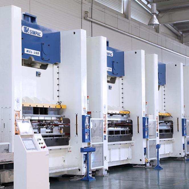 Stanz- und Umformautomaten_MCL-Baureihe - Stanz- und Umformautomaten mit Link Motion / 2.000-8.000 kN