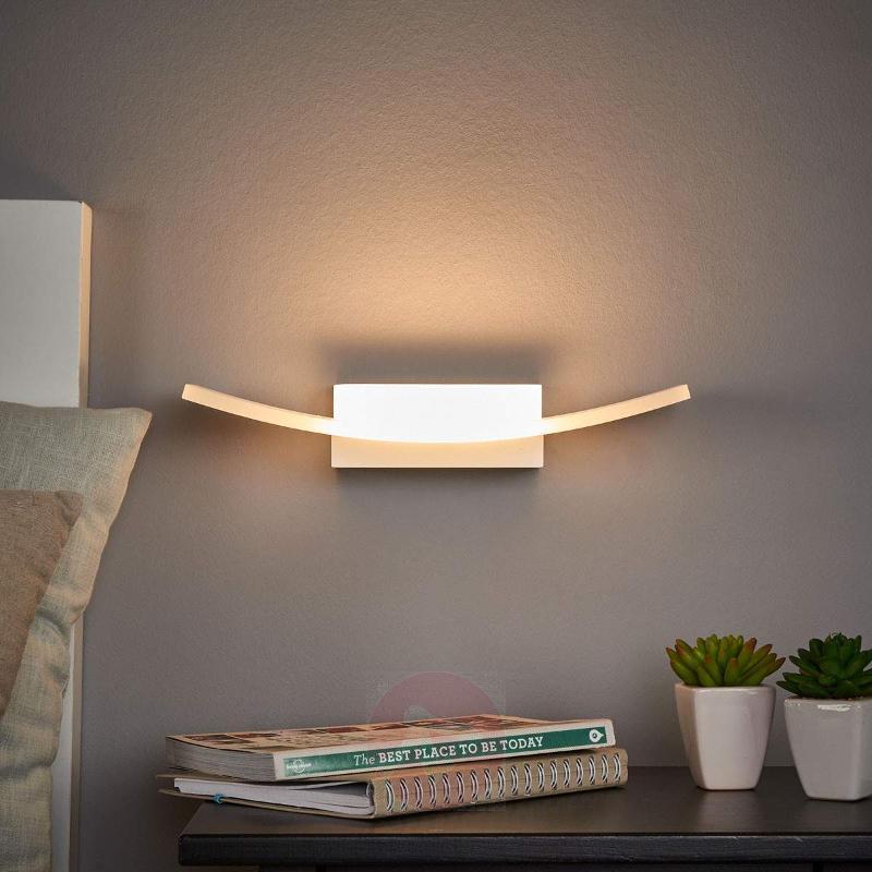 Elegant LED wall uplighter Mjela - Wall Lights