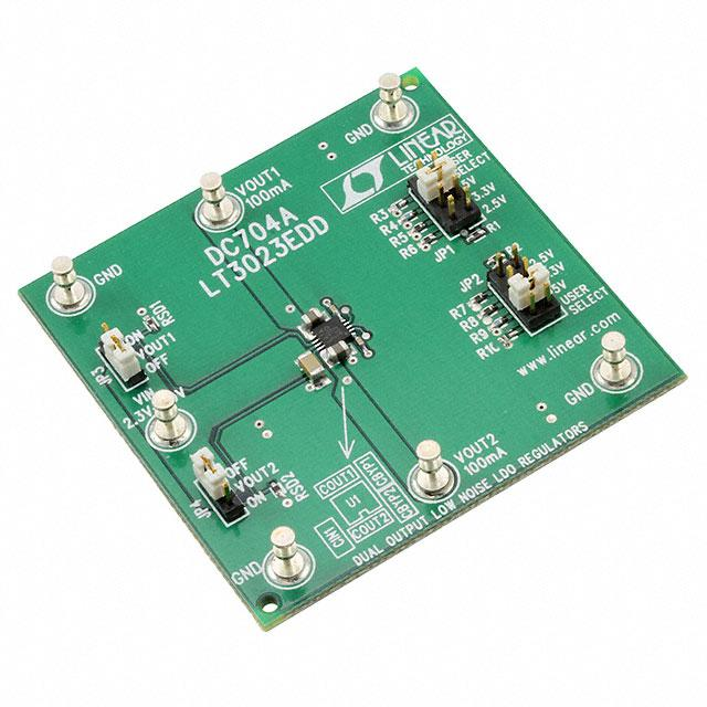 BOARD EVAL FOR LT3023EDD - Linear Technology DC704A