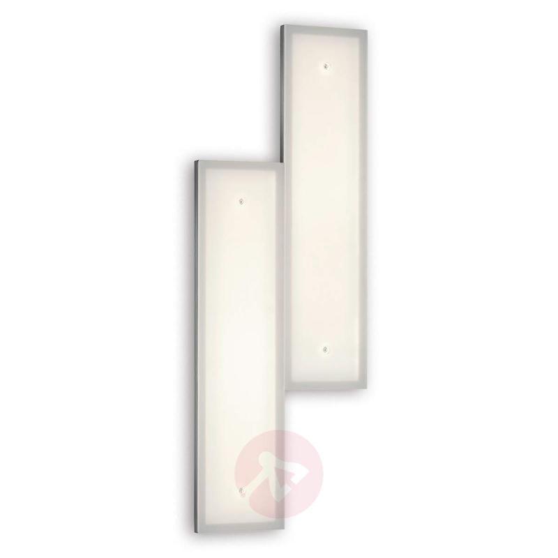Stepped Denver LED wall light - Wall Lights