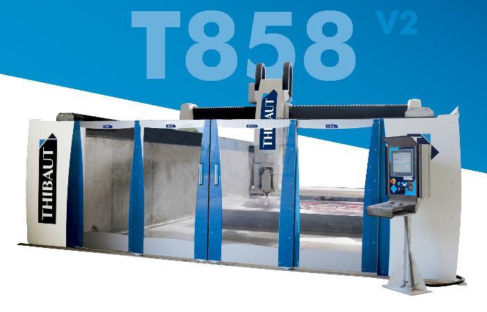 T858 V2 - Centre d'usinage CN T858 V2 5 axes