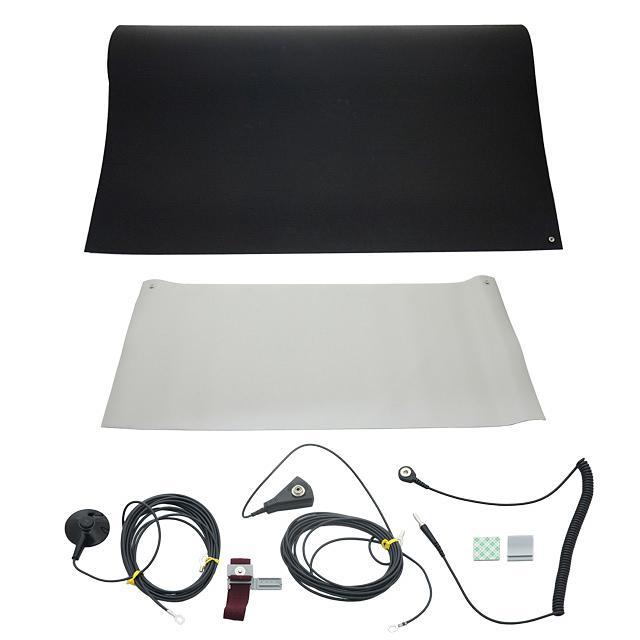 WORKSTAT KIT GRAY TABLE BLACK FL - SCS 8033