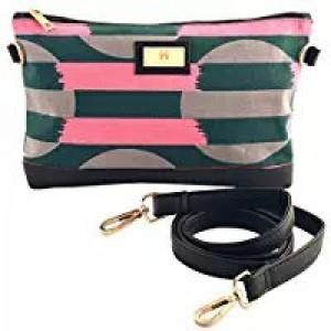 Women's Clutch (Pink and Black)