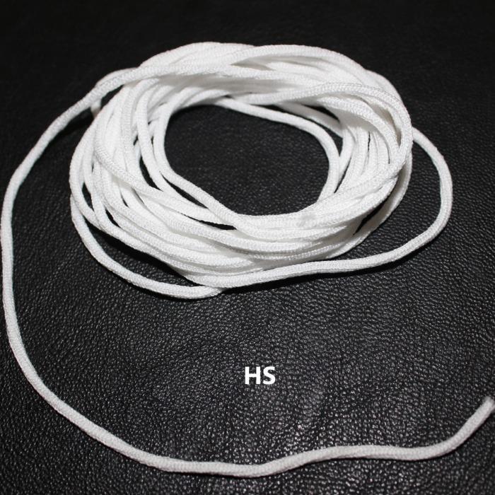 Elastic Earloop, Cord - Free Latex - Round Cord