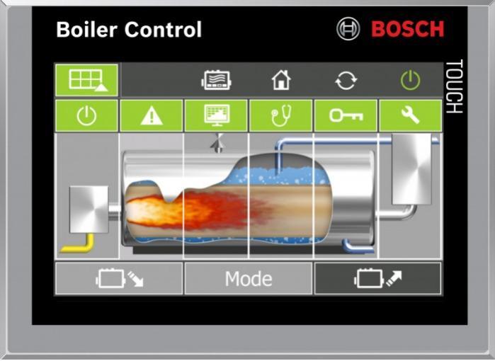 Bosch Sistema de control de caldera BCO - Bosch Sistema de control de caldera BCO